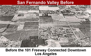 San Fernando Valley Before