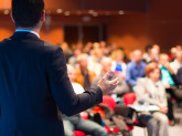 Speaker at Business Conference.